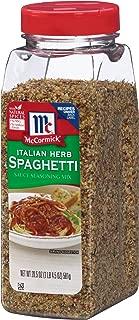 McCormick Italian Herb Spaghetti Sauce Seasoning Mix, 20.5-Ounce