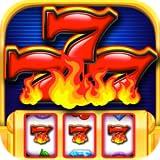 Flaming 777's Casino Slots: Double Diamond Megabucks Classic Slot Games FREE