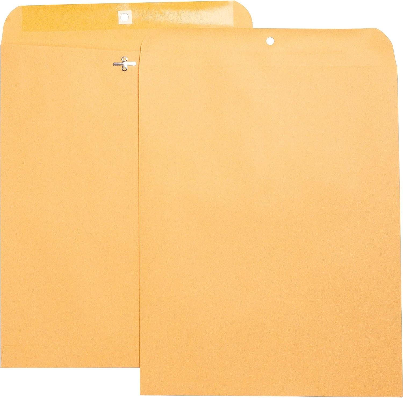 Heavy-Duty Brown Clasp Envelopes 11-1 2