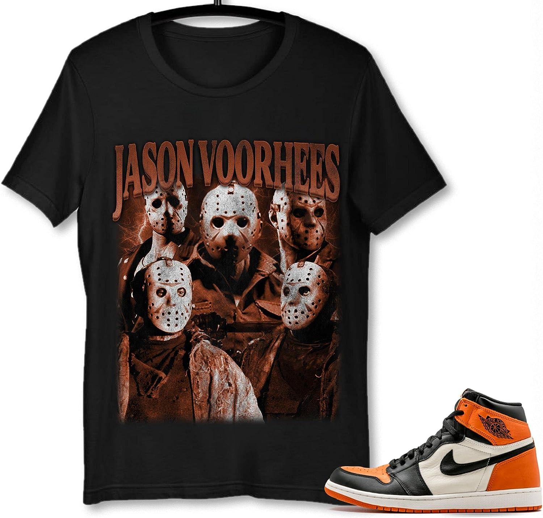 #Jason #Voorhees T-Shirt Large discharge sale to Match 1 Backboard Jordan National uniform free shipping Shattered S
