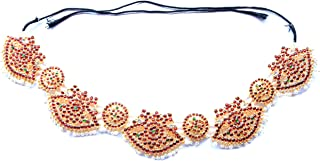 UG PRODUCTS Gold Copper Kempu Waist Belt for Women