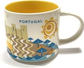 Starbucks Portugal You Are Here YAH Coffee Mug