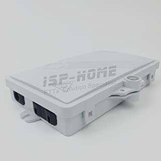 2 Core FTTH Fiber Optic Distribution Box, Terminal Box ABS Outdoor FTTH Terminal Box