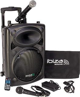 Ibiza Sound PORT10VHF-BT Sistema de sonido portátil y autónomo de 10