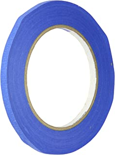 3M 2090 ScotchBlue Painters Tape - 0.25 in. (W) x 180 ft. (L) Masking Tape Roll for Medium Adhesion. Painting Wall Prepara...