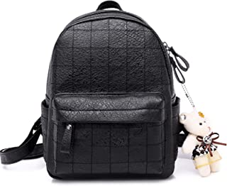 45ffb872afcf Cute Mini Leather Backpack Purse Fashion Small Daypacks for Women and Girls