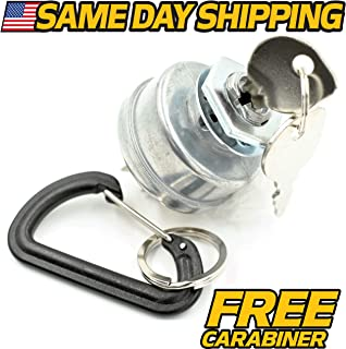 Dixie Chopper 20245 Ignition Switch w/Keys & Mounting Hardware - Free Carabiner - HD Switch