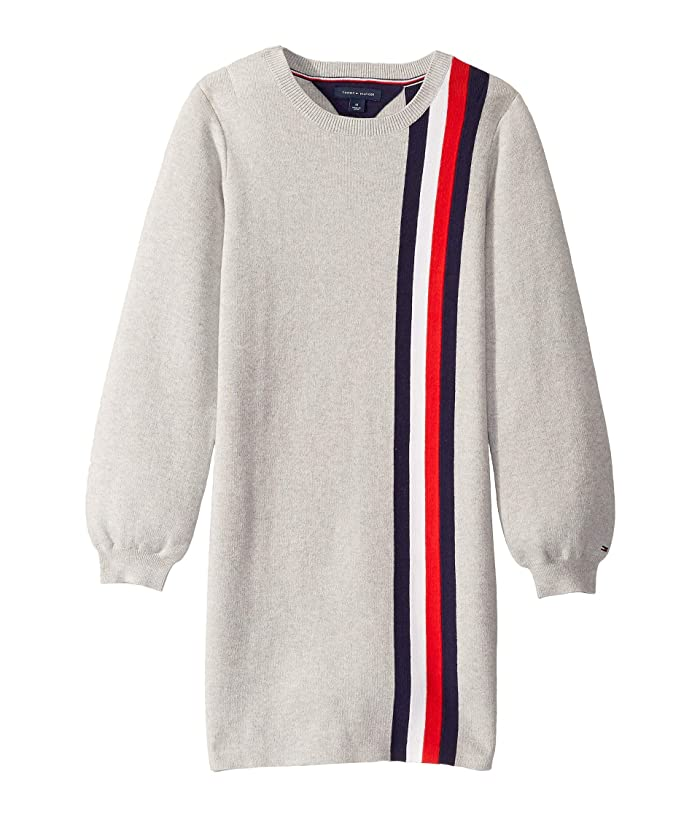 Tommy Hilfiger Girls Big Adaptive Sweater with Velcro Brand Closure at Shoulders
