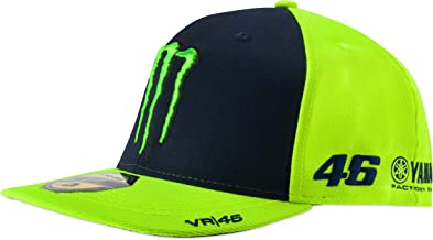 VR46 Valentino Rossi Monster Cap Blue/Yellow Adult One Size Official Merchandise