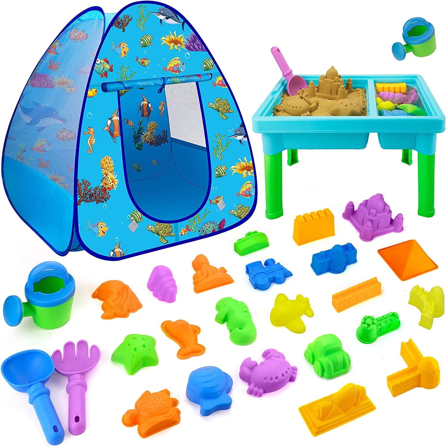 Beach Toys for Credence Toddlers Boys Austin Mall Girls Sand Kids S 27 PCS