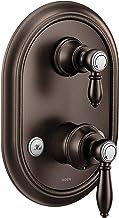 Moen Acabamento para chuveiro UTS4311ORB Weymouth M-CORE Série 3 2 alças com transferência integrada, válvula necessária, ...