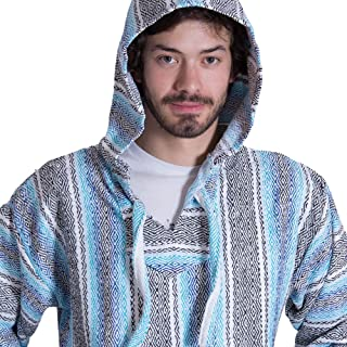 Orizaba Original Baja Hoodie | 34 UNIQUE DESIGNS | Drug Rug | Hippie Surf Poncho