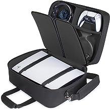 Capa USA GEAR para PS5 – Capa para console compatível com PlayStation 5 e PS5 Digital Edition com interior personalizável ...