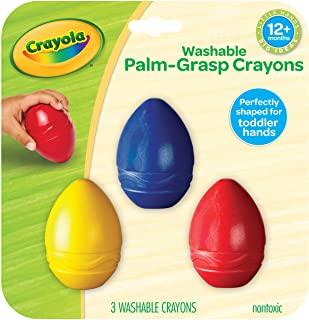 3 ct. My First Crayola Washable Egg Crayons