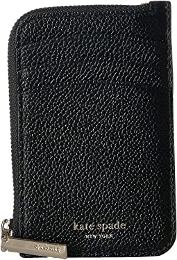 0159b17c0411 Black. 13. Kate Spade New York. Margaux Zip Card Holder.  78.00. 5Rated 5  stars