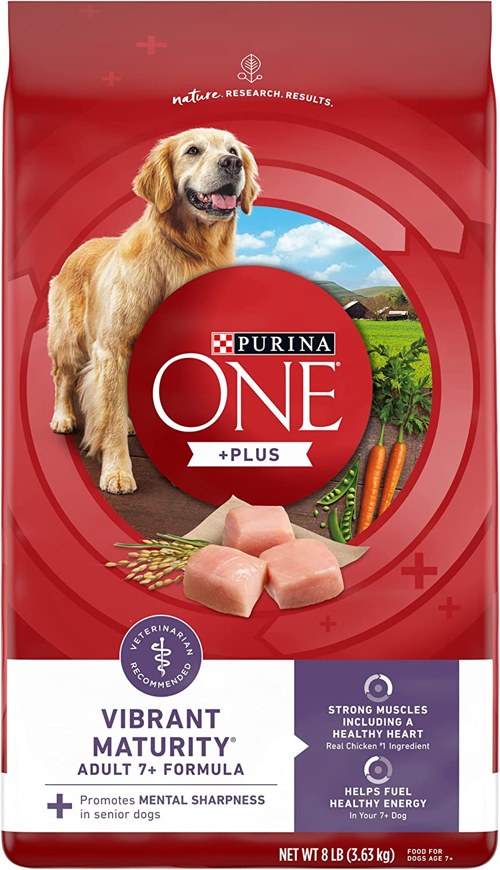 Purina ONE SmartBlend Vibrant Maturity 7+ Formula