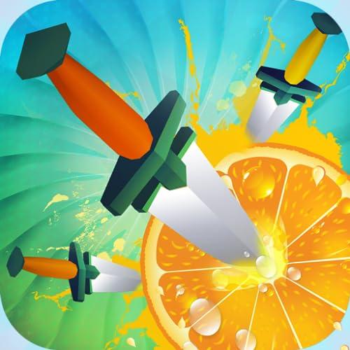 Flip Messer Hit Challenge: Obst schneiden Spiel