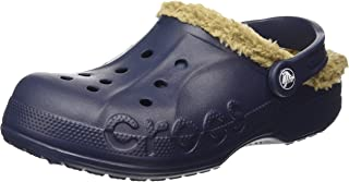 crocs Baya Lined, Unisex-Adults' Clogs, Blue (Navy/Khaki), W8 AU