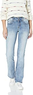 Junior's Instastretch Luscious Curvy Bootcut Jeans, Amber, 3
