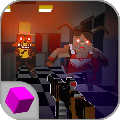 5 Nights Pizzeria Blocky Shooter | Horror Pixel Scary Shooting: Really Scary Game