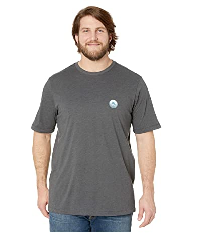 Tommy Bahama Big & Tall Well Placed Shot T-Shirt (Coal Heather) Men