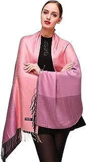 Shmily Girl Damen Pashmina Schal Stola für Frauen Schultertuch Eleganter Schal mit floralem Muster in vielen Farben