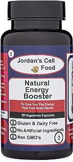 Natural Energy Booster (Similar to Dr. Sebi's Viento) Qty: 90 Capsules 100% Natural