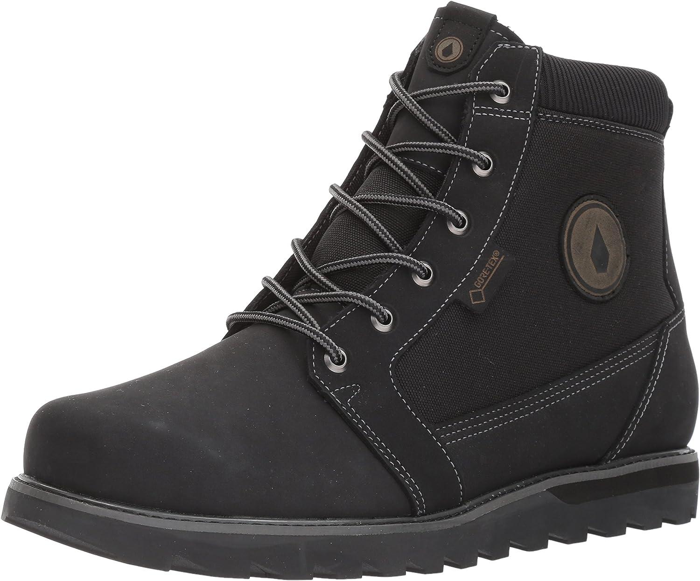 Volcom Volcom Herrington Gtx Stiefel -Fall 2017-(V4031705_BLK) - schwarz - 8  Unterstützung Großhandel Einzelhandel