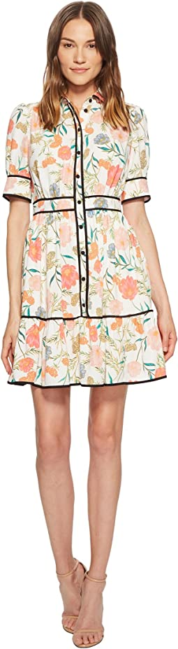 Blossom Fluid Shirtdress