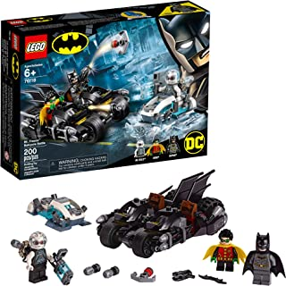 LEGO DC Batman Mr. Freeze Batcycle Battle 76118 Building...
