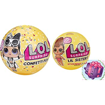 Amazon Com L O L Surprise Confetti Pop Series 3 Wave 2 With Lol