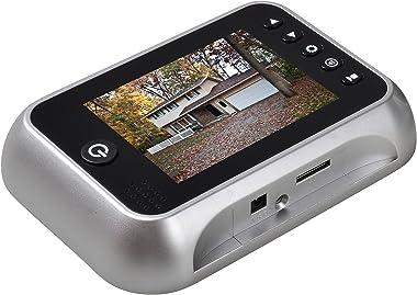 "3.5"" TFT LCD Screen Digital Doorbell Security Camera Door Peephole Viewer Door Camera Night Vision Wide Angle + Video Record+"