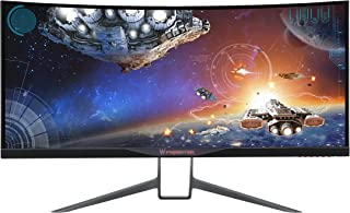 Acer Predator 34-inch Curved UltraWide QHD (3440 x 1440) NVIDIA G-Sync Widescreen Display (X34 bmiphz)