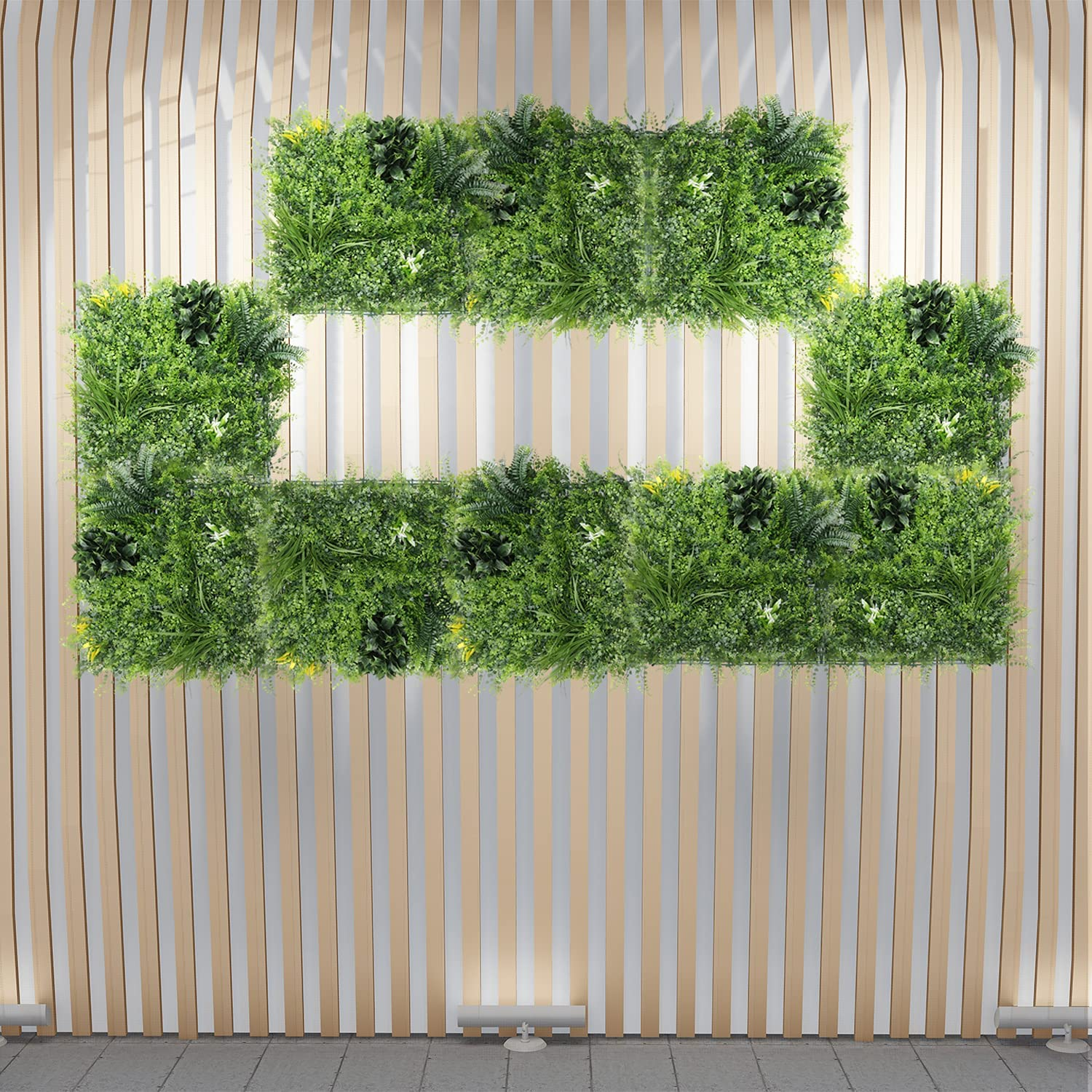 ECOOPTS Faux Ivy Privacy Max 77% OFF Fence Panels Max 65% OFF Screen Artificial Boxwood