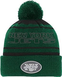 Outerstuff NFL Teen-Boys NFL Youth Boys Reflective Cuff Knit Pom Hat