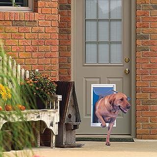 Ideal Pet Pet Doors 38cm . x 27cm . Extra Large Deluxe Aluminium Frame Pet Door DDXLW