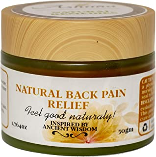 Natural Remedy for Back (Upper & Lower) Neck Shoulder Pain Relief eases Tight Sore Painful Muscles Fights Inflammation Encourage Blood Circulation Natural Healthy Wellness Alternatives Non-Toxic