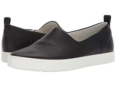 ECCO Gillian Slip-On (Black Cow Leather) Women