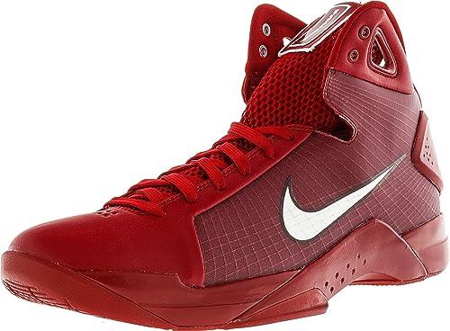 """Nike, Herren """"Hyperdunk """"08 , Basketball-Schuhe, Rot - Gym rot Weiß-team rot - Größe  42.5 EU"""