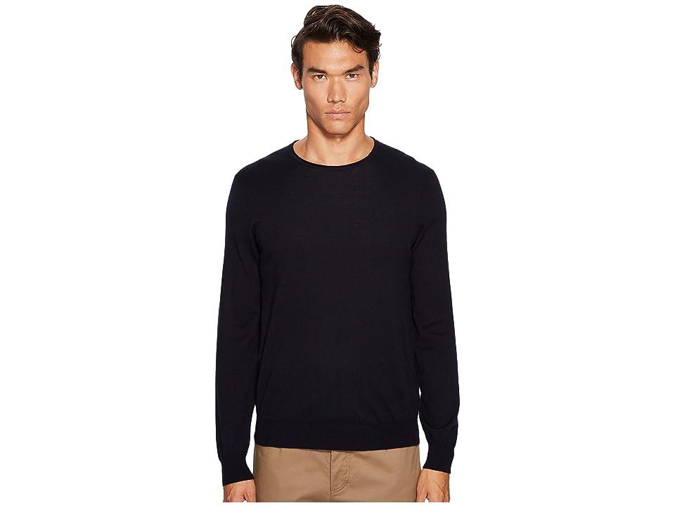 Vince Crew Neck Sweater (Coastal Blue) Men