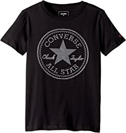 Converse Kids Color Reveal Chuck Patch Tee (Big Kids)