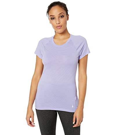 Smartwool Merino 150 Baselayer Pattern Short Sleeve (Cascade Purple) Women
