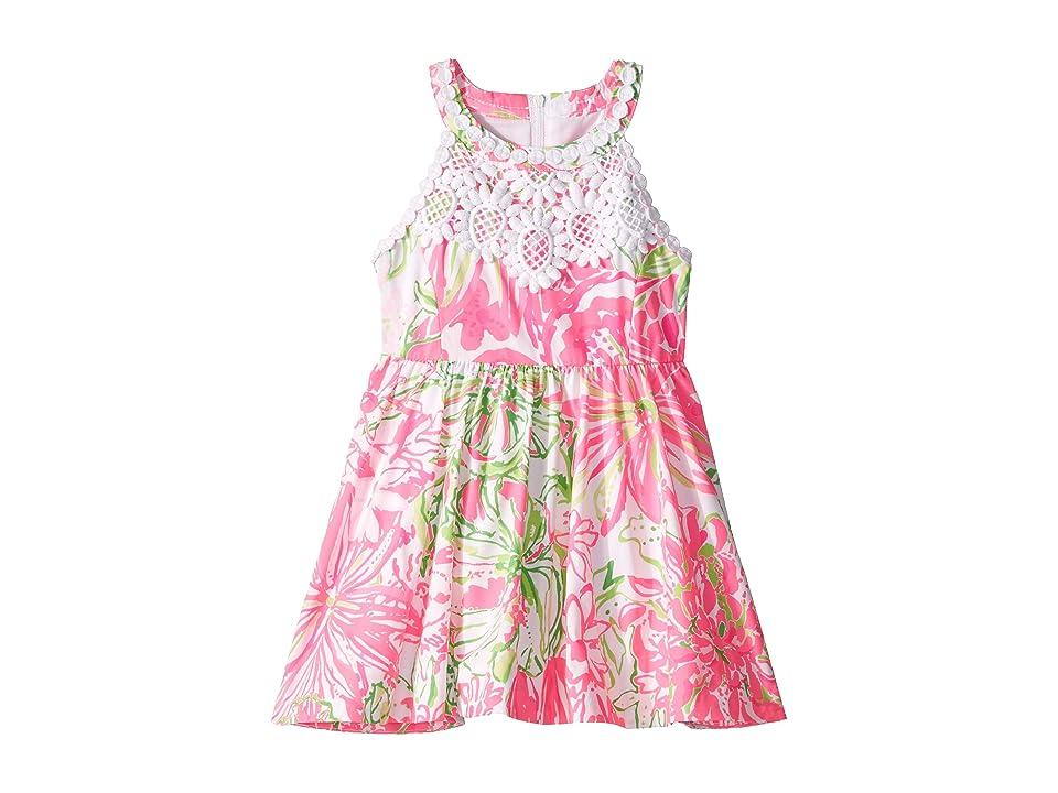 Lilly Pulitzer Kids Little Kinley Dress (Toddler/Little Kids/Big Kids) (Resort White Koala Me Maybe) Girl