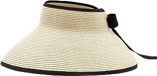 أقنعة الشمس النسائية من Durio قبعة عريضة الحواف قابلة للطي للوقاية من الشمس للنساء قبعة الصيف سترو الشاطئ