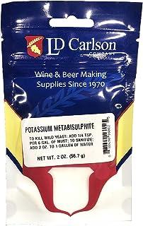 LD Carlson 6012A Potassium Metabisulfite 2 oz.