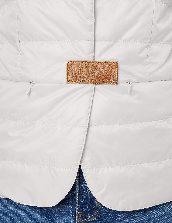 Yargıcı Damen Microfiber Down Jacket Mantel Blau (Ice Blue 367)