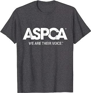 ASPCA We Are Their Voice Logo T-Shirt Heather