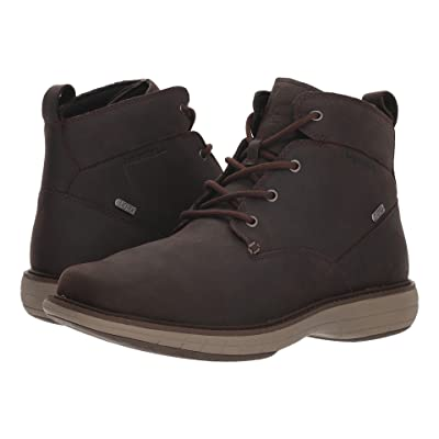 Merrell World Vue Chukka Waterproof (Black Slate) Men
