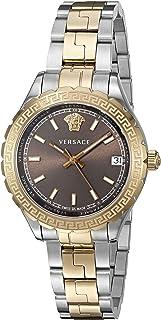 Versace - Reloj Analógico para Mujer de Cuarzo con Correa en Acero Inoxidable V12040015