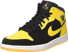 Amazon.com: Black and Yellow Jordans